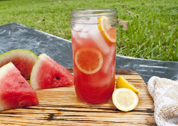 easy watermelon lemonade recipes using equal