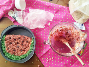 watermelon rice krispie fail