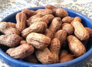 boiled peanuts image