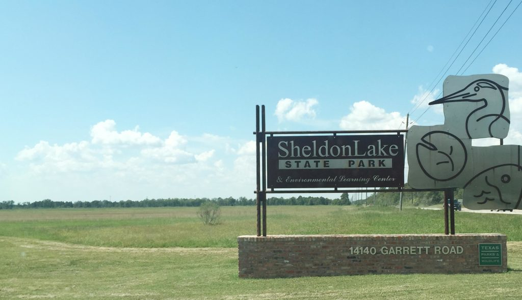 sheldon lake state park outside of Houston TX