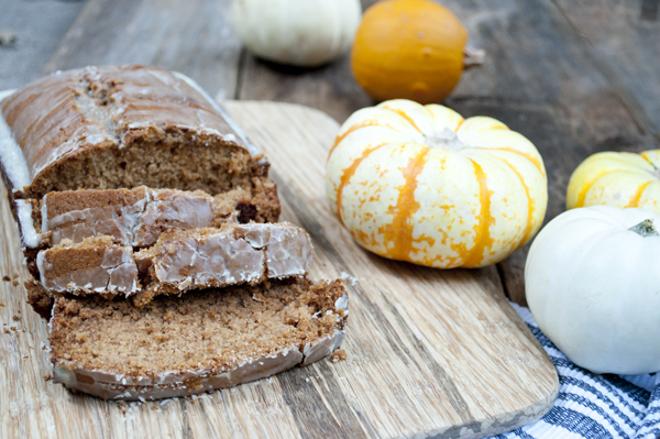 Apple Butter Spice Cake Recipe from Clumsy Crafter