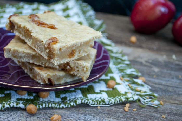 caramel apple blodies - the perfect blondie recipe for fall