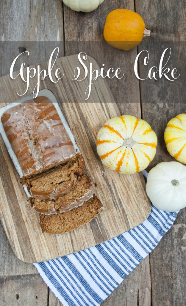 Apple Spice Cake - the perfect fall recipe for gift giving