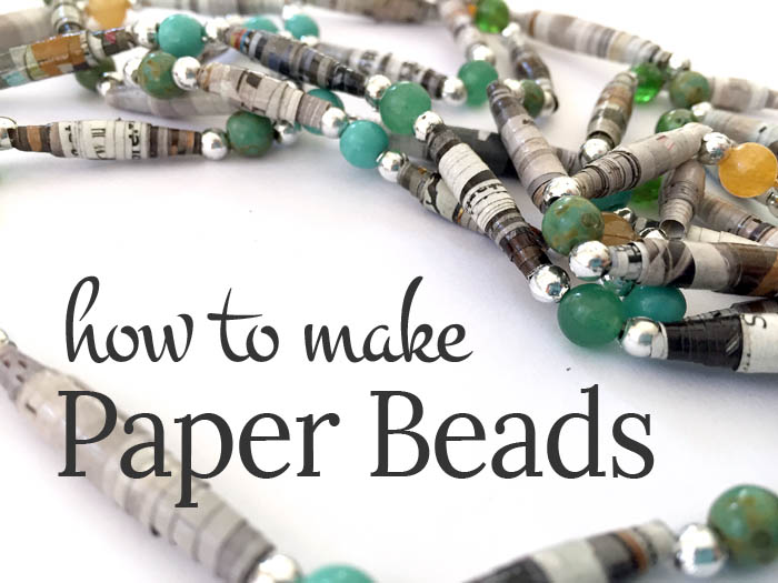 how to make paper beads a quick and easy jewelry tutorial clumsy crafter. Black Bedroom Furniture Sets. Home Design Ideas