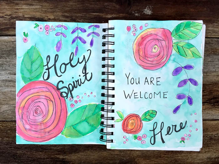 Bible Journaling, also known as illustrated faith