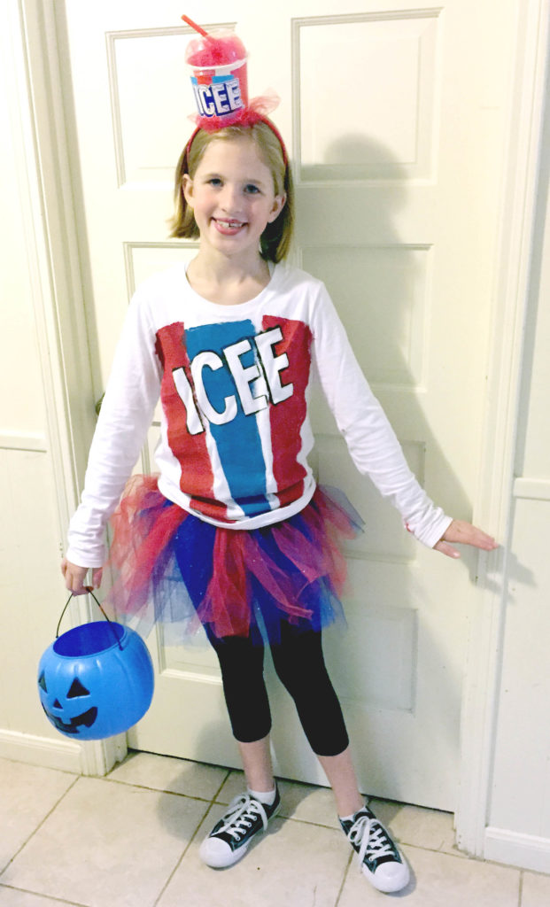 Icee Costume  sc 1 st  Clumsy Crafter & Trick Or Treat Smell My Feet Bring Me Christmas Toffee To Eat ...