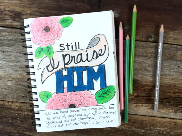 Illusrated faith without drawing in a bible