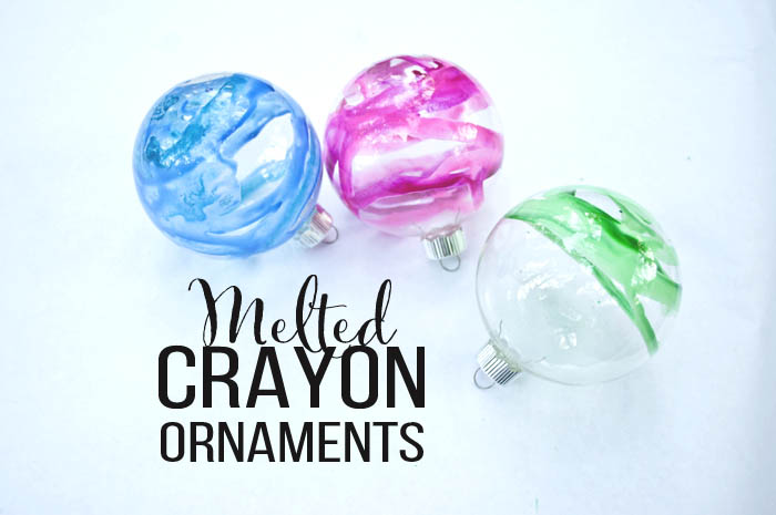 melted crayon christmas ornaments a great christmas ornament diy