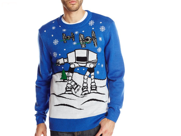 Star Wars Ugly Christmas Sweater Clumsy Crafter