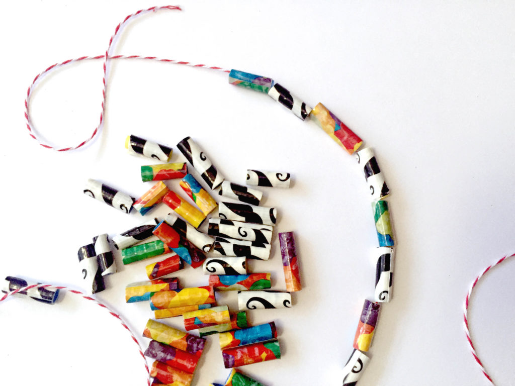Duct Tape Beads - A fun and easy duct tape craft