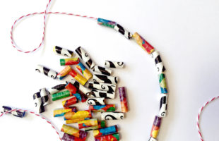 Duct Tape Beads – A Super Fun and Easy Duct Tape Craft for Kids