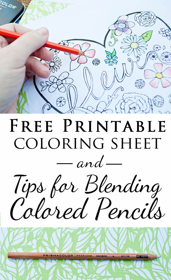Free Printable Adult Coloring Pages + Tips For Blending Colors