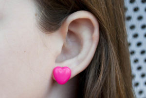 Biggie Perler Beads to Heart Earrings – Melt Things!