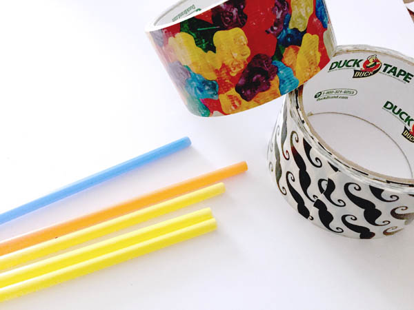 duct tape beads - the simplest duct tape craft you'll ever make
