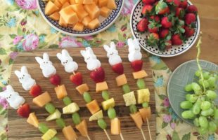 Where's My Peeps At? –  Easter Fruit Skewers with Peeps