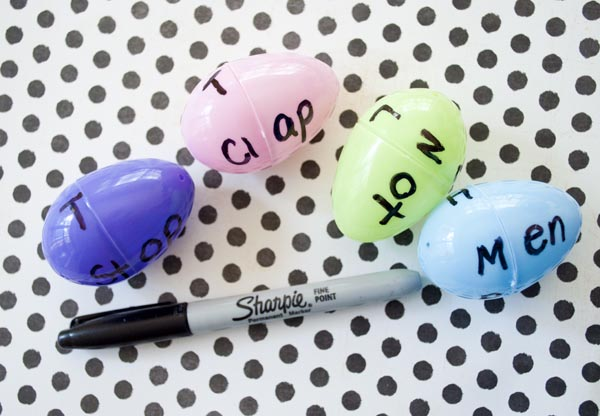 Using Easter Eggs to teach phonic blends - fun and easy