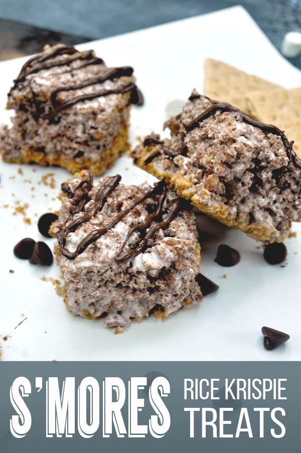 S'mores Rice Krispie Treat Recipe