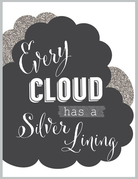 cloud has a silver lining essay Every cloud had a silver lining : school essays : college essays : essays : articles.