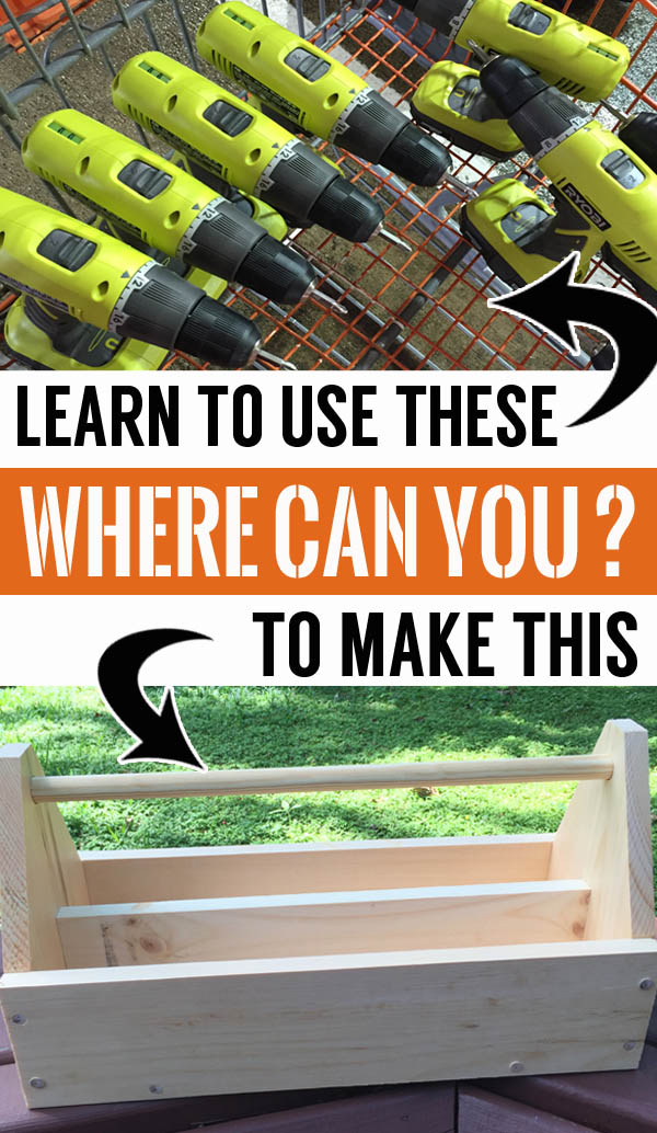 Learn how to use power tools to make fun projects at Do-It-Herself Workshop at The Home Depot