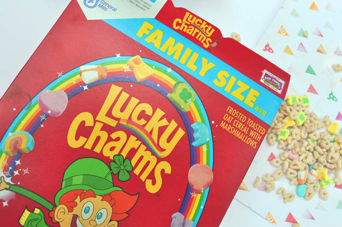recipes made with lucky charms cereal