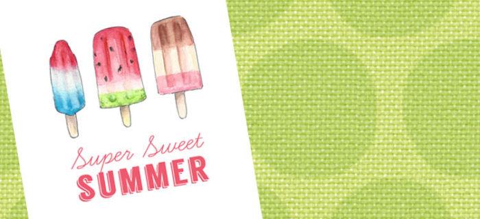 Super Sweet Summer – Free Printable!