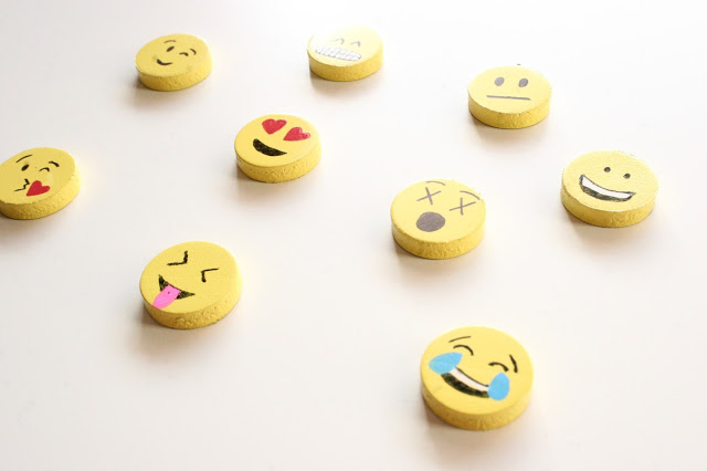 DIY Emoji Magnets