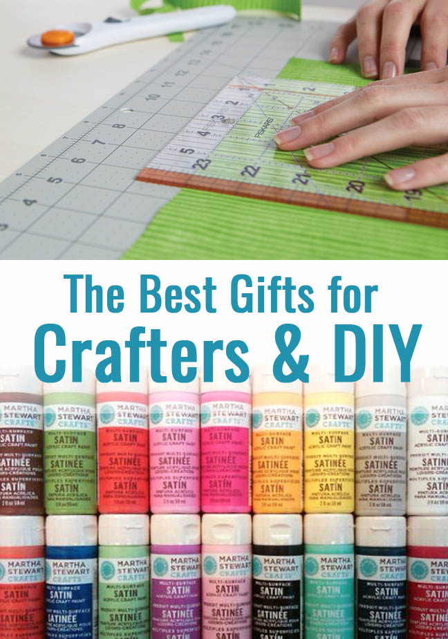 Great gift ideas for DIYers and Crafters! I like the second one.
