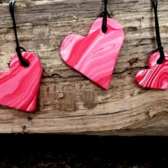 Simple Heart Pendants – You Can Make This.