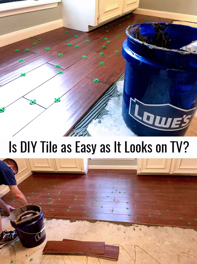 Is DIY Tile as easy as it looks? let's find out
