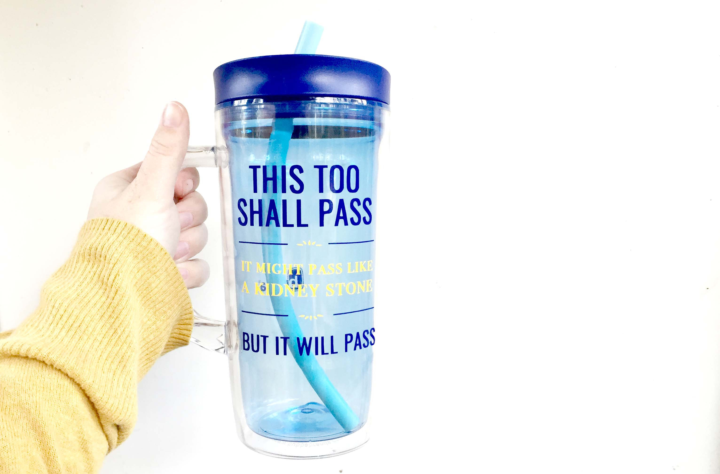 This Too Shall Pass It Might Pass Like A Kidney Stone