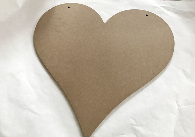 what can you make with wood hearts