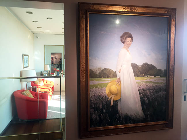 Lyndon B Johnson Presidential Library visit Lady Bird