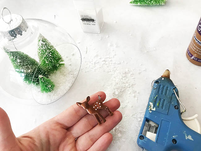 Make your own diorama ornament