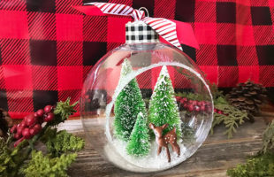 5 DIY Christmas Ornaments with Instructions on How to Make Them.