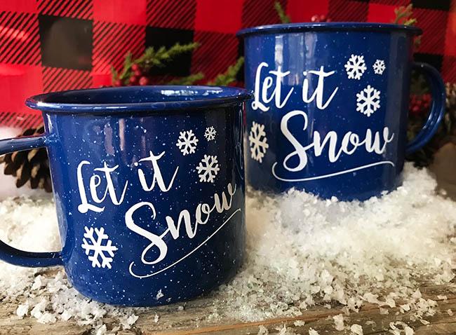 let it snow free cut file