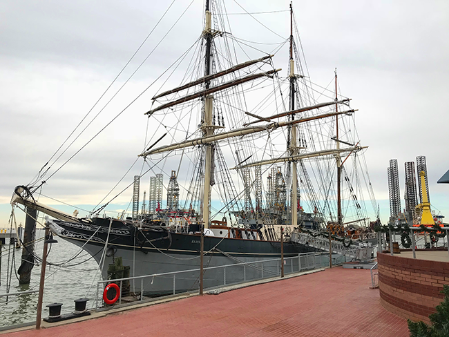 Things to do in Galveston - Tall Ship Elissa