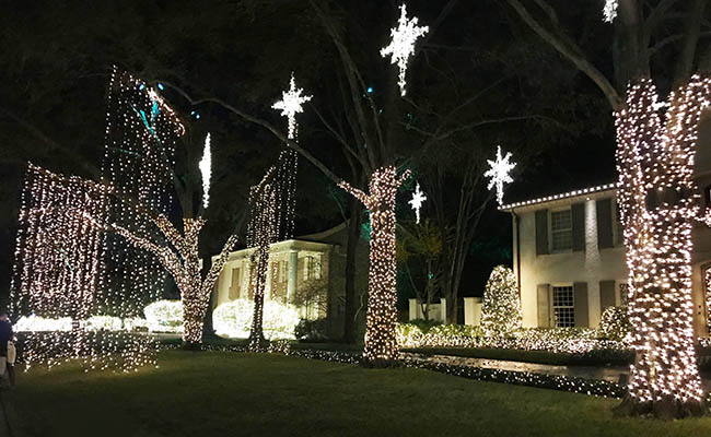 christmas light displays in houston