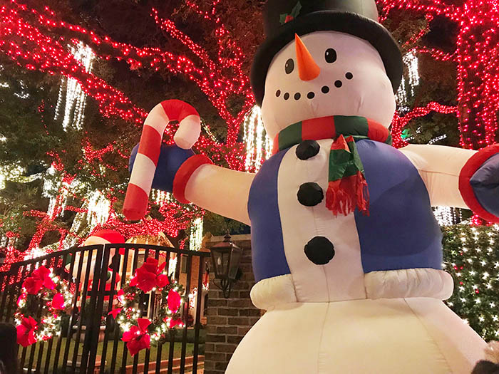 Where to see the best christmas lights in Houston