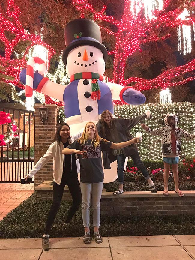 river oaks christmas lights family