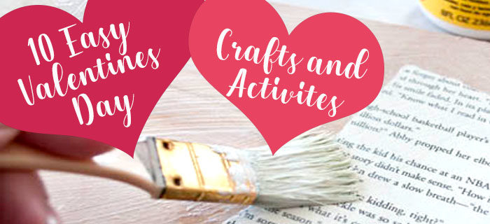 Valentine's Crafts! It's the MOST Wonderful Time of the Year!