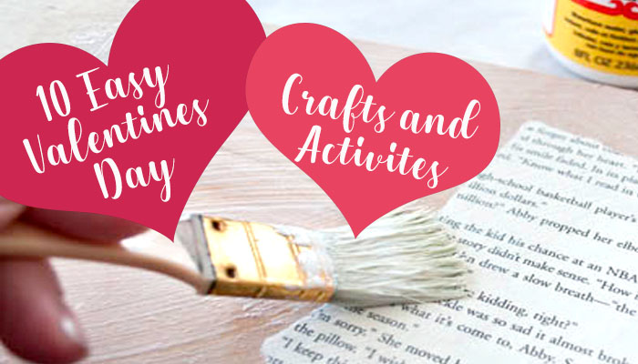 10 easy valentine's day crafts and activities
