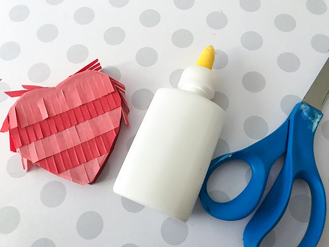 Valentines Day Ideas - Pinata style treat box