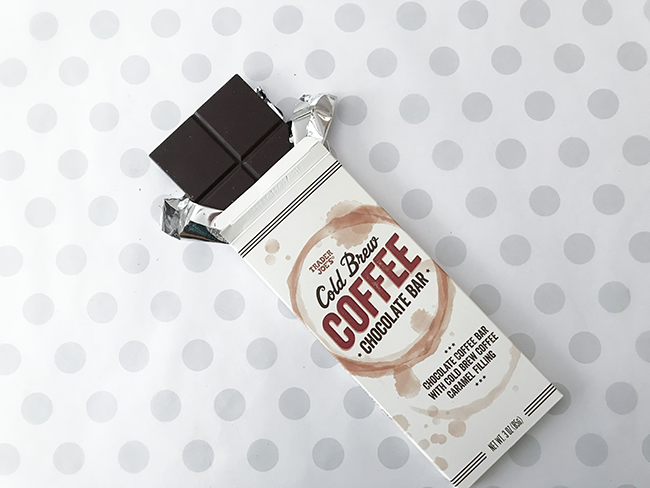 cold brew coffee chocolate bar trader joes