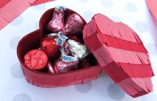 Pinata Hearts – DIY Candy Treat Boxes
