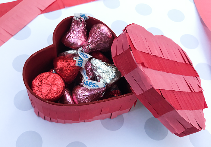 Heart treat box - Pintata Style- Perfect for Valentine's Day