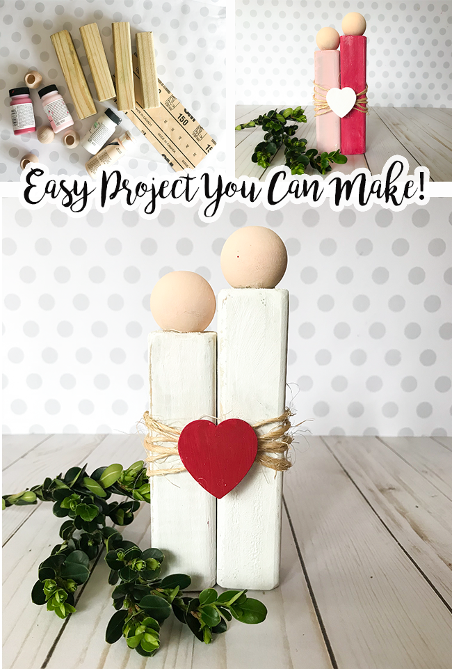 Rustic Love Diy Craft For Valentine S Or As A Present To A Couple