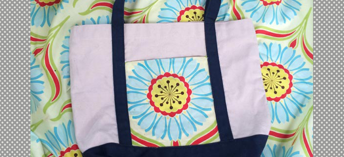 DIY Canvas Tote Bag Redo! Simple Makeover for an Ugly Bag