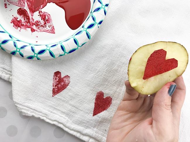 potato print ideas
