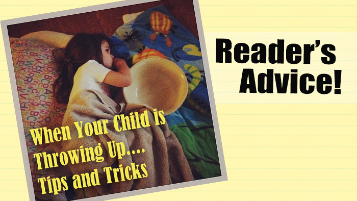 what to do when your child is throwing up