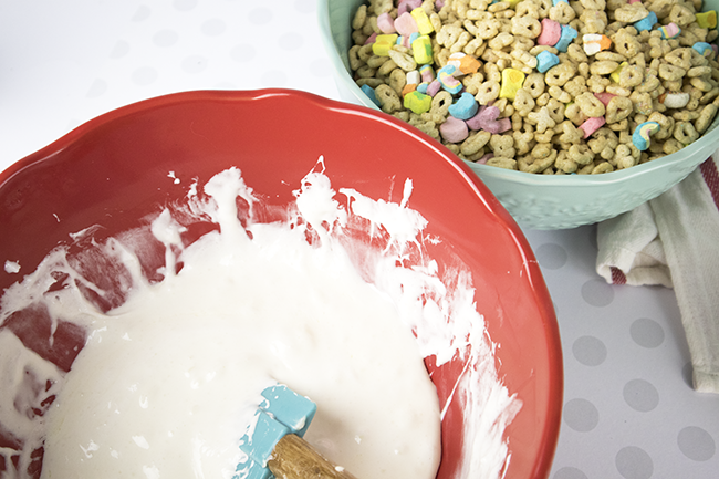 how to make lucky charms treats